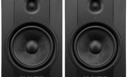 These have been good monitors but I'll be moving soon and looking for something smaller. Have a look at the links below for specs and a review - the review is of a newer edition but still relevant. M-Audio Website:
