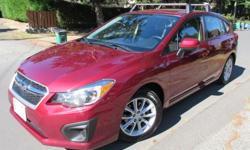 Make Subaru Model Impreza Year 2013 Colour Red kms 61500 Trans Automatic 2013 Subaru Impreza Automatic with: - Hatchback (wagon) - Touring model - All-wheel drive - Additional set of winter tires on rims - Cruise control - Integrated paddle shifters and