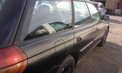 Make Subaru Model Legacy Wagon Year 1998 Colour Black Trans Automatic This is an AWD, lots of room as seats in the back fold down providing as much room as a truck for space. Fully loaded, heated seats and mirrors. A/C New tires, new alternator. Engine
