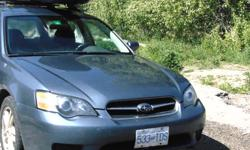 Make Subaru Model Legacy Wagon Year 2005 Colour blue kms 244000 Trans Automatic New timing belt 2014, new windshield, one winter left on tires, stored for summers, new exhaust, new left rear wheel bearings...make an offer!