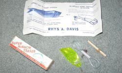 Super minnow teaster rhys davis salmon fishing lure .Steve 250-479-8348