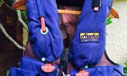 2 Switlik lifejackets with harnesses Heavy duty Great for Swiftsure Race + 4 man raft
