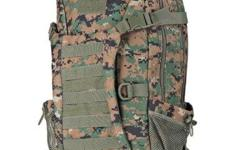 "Tactical Military Molle Utility Rucksack Backpack Bag - 35L - Camouflage - water resistant nylon material - W12-1/2"" x D6-1/2"" x H19-1/2"" - brand new, never used - $80 firm"