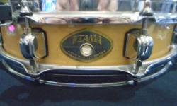 MONEYMAXX HAS A TAMA PICCOLO SNARE FOR SALE. SOUNDS AMAZING AND LOOKS THE SAME! WE HAVE A FEW OTHER SNARES IN STOCK AS WELL, COME ON DOWN AND HAVE A LOOK.