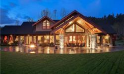 # Bath 6 Sq Ft 9890 # Bed 4 Spacious Elegant Custom Designed Award Winning Home engineered & built to a very high standard with great attention to detail. This architectural marvel sits on 10 private acres & is sure to impress. The interior blends