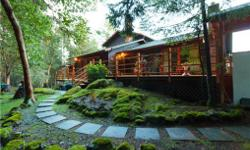"""# Bath 5 Sq Ft 4463 # Bed 4 ***Welcome to Deer Haven - A wonderful """"Lodge-Style"""" retreat located at the end of a meandering drive you'll find this exceptionally built home set among 3.5 acres of nature. This peaceful Highlands location is the perfect spot"""