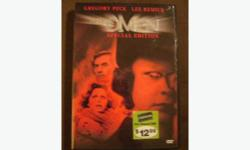 THE OMEN DVD with GREGORY PECK and LEE REMICK IN GREAT CONDITION, BOUGHT FROM BLOCKBUSTER FOR $12.99 SELLING FOR $5.00 available Downtown or St. James, whichever is better for you