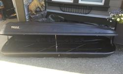 Thule Mountaineer car carrier. Good condition with all parts and straps. One owner.