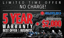 Don't miss the Best Warranty in the Business Offer and great deals at Mile Zero Motorsports. Check out the awesome deals at http://www.themilezero.com/pages/summer-sale Offer Expires June 30, 2016