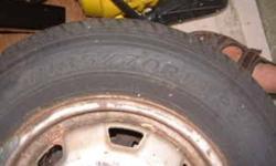 Pair of New Tires P185/70R13 on rims fit 1989 Honda Civic. $125.00 o.b.o. Call Bob 604-939-3779 Coquitlam