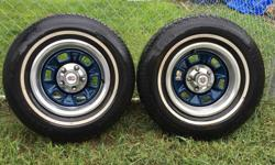 Tires & rims off El Camino Royal Knight $45 each