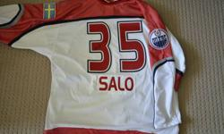 Tommy Salo Autographed 2000 All-Star Jersey   Authentic Pro Jersey (not a knock off and never worn - compare @ $400 for jersey and cresting only)   I managed Game On Sports in Edmonton and Tommy signed when he visited the store.   $375.00 (serious