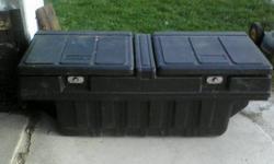 """Tool Box fits inside of box, no keys, 53"""" L x 22"""" W x 20"""" H"""