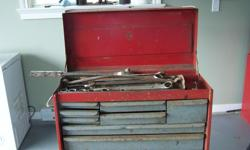 Tool box for sale. Very Heavy Duty. Tools negotiable