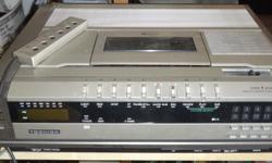 Model V8000 Includes original manual and 2 blank cassettes In working order