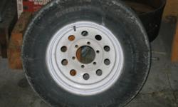 ST 225/75R15 6 bolt tire & rim would make a good spare   if you see ad I still have 519 273-6303