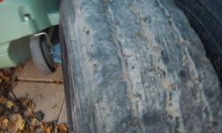 11245 Trailer tires x2 90% tread left Asking $125 each
