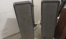 vintage speaker columns,Traynor,8 ohms