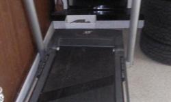 $275 obo Tredmill, Inclines, work out speed or leisure walks. Has built in fan. Hardly used, folds up. PICK UP ONLY. MUST BRING HELP. heavy