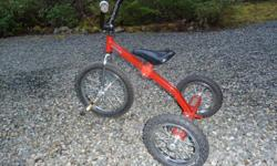 """""""FARM TUFF"""" Deluxe, H.D. Excellent condition. 16"""" front wheel. Bought at Home Hardware for $ 170. Made in Canada. Suitable for children over 4 years. 250 468 9823"""