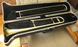 Good student instrument with hard case.