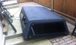 "*only $100 if buy before Saturday* Truck canopy Black Not damaged 6'5"" x 5' Originally on a Nissan king long box Call or email Chad. 604-626-3051 thank you!"