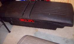 I have a Delta tool box for a small pickup (Nissan Frontier).  Excellent shape.   Paid $300.