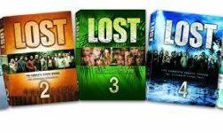 Great TV series. Watched once (like new disc's) season 1-5 of the show LOST. All DVD's included