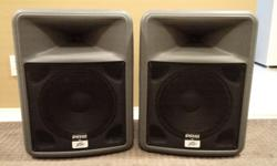 Peavey's PR® series delivers superior sound quality by utilizing advanced materials, like its lightweight, roadworthy molded polypropylene exterior. The PR 12 is a two-way PA speaker system that is lightweight yet rugged for live music or speech