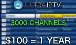 ?? #1 IPTV SERVICE IN CANADA ?? 3000 CHANNELS FROM ALL COUNTRIES FOR ONLY $100 A YEAR OR $10 A MONTH! ?? OUR SERVICE HAS NO FREEZING & CHANNELS ARE HD! ?? DON'T MISS OUT, CALL: 403-970-2673 ?? ?? WORKS ON ALL TV BOXES ?? ? WHAT YOU GET WITH ULTRA IPTV: ?