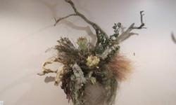 Custom made out of natural flora from N. Sask. Preserved, will not rot See Pics