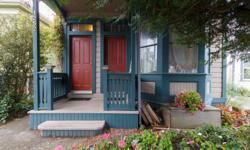 # Bath 2 Sq Ft 1662 MLS 369819 # Bed 2 Located in serene Fernwood, just minutes from Downtown Victoria, this Heritage Victorian Italianate has been lovingly restored and maintained inside and out by long term owner. The two 1-bedroom loft units include