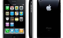 I have an iPhone 3G 8gb that has been unlocked and in very good condition. It will come with the best case for an iPhone, the otterbox ($60 value). Since purchasing a new iPhone, I will no longer need this one. $200 Obo. text me @ 306-596-3665.