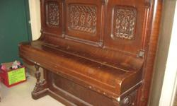 upright, Bell piano *functioning but requires tuning *Pick-up only