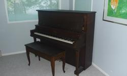 Upright Piano made by Miller Bros. Halifax - well loved well cared for piano that has a great sound and loves to be played. We are moving and cannot take it with us. For pickup.