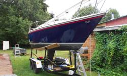 Anderson self tailing winches, 9.9 Yamaha 4 stroke electric start with remote cockpit controls, self furling headsail, many extras, sails are new. Spinnaker equipped. Both mainsail and headsail have covers. Cockpit awning to escape the sun's rays when