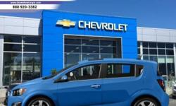 Make Chevrolet Model Sonic Year 2013 Colour BLUE kms 73949 Trans Automatic This 2013 Chevrolet Sonic is for sale on our lot in Victoria. This sedan has 73949 kms. It's blue in colour. It has an automatic transmission and is powered by a 1.8L I4 16V MPFI