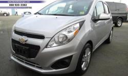 Make Chevrolet Model Spark Year 2014 Colour SILVER kms 11193 Trans Automatic On Sale! Save $2000 on this hatchback, we've marked it down from $11995. This 2014 Chevrolet Spark is for sale on our lot in Victoria. This low mileage hatchback has just 11193