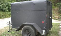RECENTLY PURCHASED A TRUCK AND NO LONGER NEED THIS UTILITY TRAILER. LOOKING TO SELL IT PRIOR TO SNOW ARRIVING. NEW WHEEL BEARINGS INSTALLED 2 YEARS AGO.