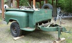 U built Utility Trailer, $150 Call Fred 250-229-4717