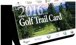 WE HAVE A PARTLY USED GOLF TRAIL CARD AVAILABLE INCLUDES 9 GAMES AT 9 DIFFERENT COURSES THE CARD ORIGINALLY HAD 12 THREE HAVE BEEN USED FOR COMPETE INFO GO TO http://golfvancouverisland.ca/about-us/golf-trail-card THE CARD ENTITLES THE HOLDER TO A FREE