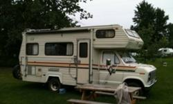 Clean 21 ft runs good new fridge awning sleeps 6 This ad was posted with the Kijiji Classifieds app.
