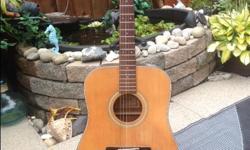 Vantage guitar $75.00 good condition.