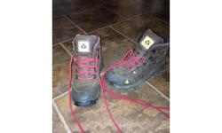 Brand-new hiking boots girls size 5 gore-Tex so they will not get wet.
