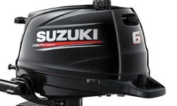 VECTOR YACHT SERVICES IS BLOWING OUT A 2018 SUZUKI 6HP SHORT SHAFT FOR $1639.00 PLUS TAX. THESE ENGINES HAVE A BUILT IN FUEL TANK AS WELL YOU CAN HOOK UP AN AUXILIARY TANK . THE SUZUKI 6 HP CAN ALSO BE LAID DOWN ON EITHER SIDE WHEN TRANSPORTING. THE