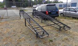 This is a vehicle display ramp or can be used for doing some work under a vehicle such as power washing, exhaust work and much more.