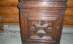 This is a very rare one of a kind piece of furniture. Mahogany. Possibly flemish but very old and fragile. Must be seen and touched to be appreciated. Must sell @ well below appraised value. $950