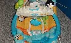 Selling a Fisher Price Vibrating/Bouncy chair in GREAT condition! It is the greatest item I ever used for my baby! Asking $20.00 OBO