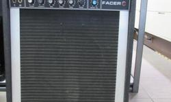 Vintage Peavey Pacer 100 SS Series Solid State 45 Watt Guitar Combo Amp
