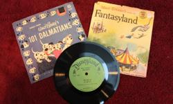 Do you remember the days when 45 play records cost $0.25. Well those days are gone but you can still acquire Vintage Disney and other collectables right here. Opportunities like this don't come often Here are three Disney story books 45's being sold as a